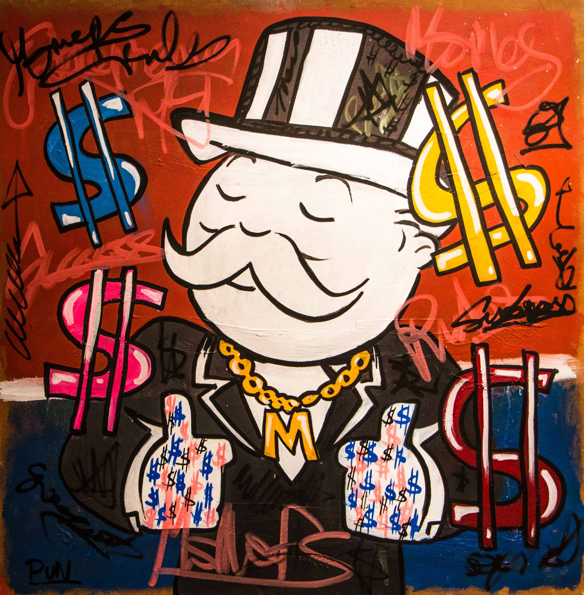 Executive ft. Mr. Monopoly