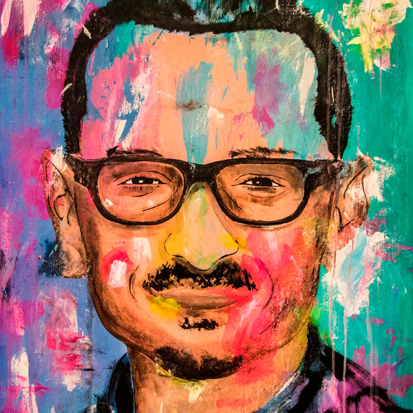 Chester Bennington Pop Art Portrait - 90x70cm