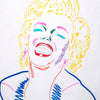 Marilyn Monroe Pop Art Portrait N*5 - 90x70cm
