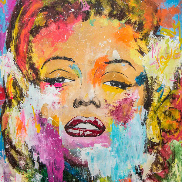 A Mary - Pop Art - 140x100cm