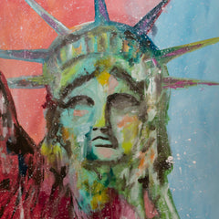Liberty Pop Art - 90x70cm