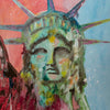 SOLD - Liberty Pop Art - 90x70cm