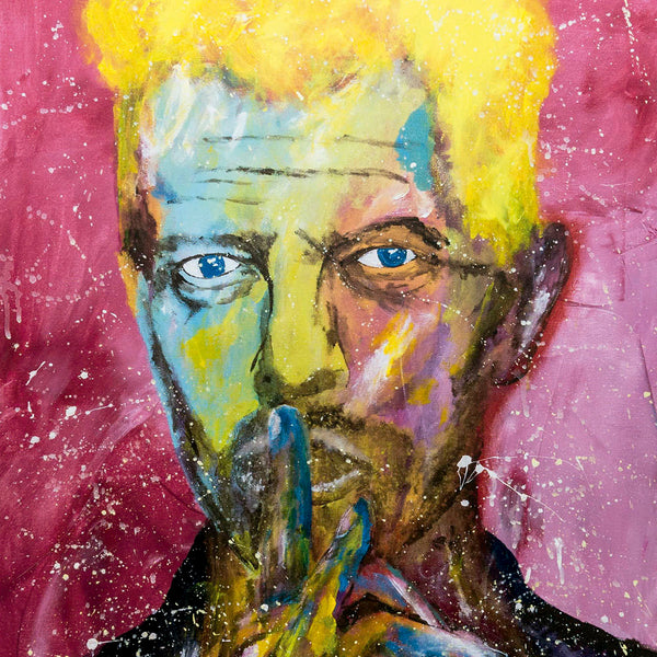David Bowie - Pop Art 90x70cm