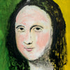 SOLD - Prints Available -  La Mona Lisa - Pop Art 90x70cm
