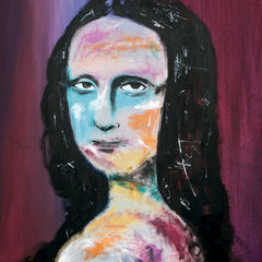 SOLD OUT - Prints Available - Mona Lisa Portrait N*2 - 90x70cm