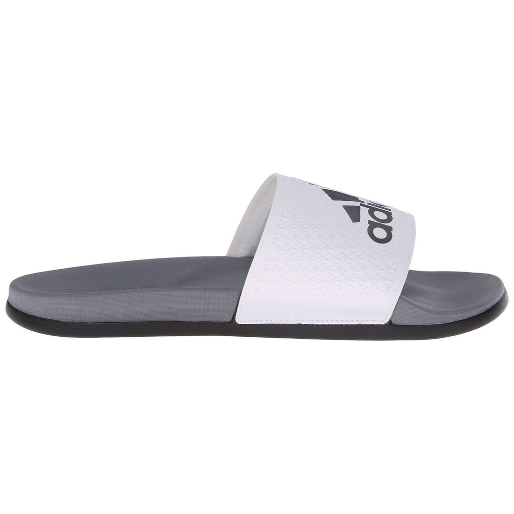 191edb271 adidas Originals Men s Adilette CF+C Slide Sandals - White Iron Metallic  Grey Vista Grey adidas Originals Men s Adilette CF+C Slide Sandals - White  Iron ...