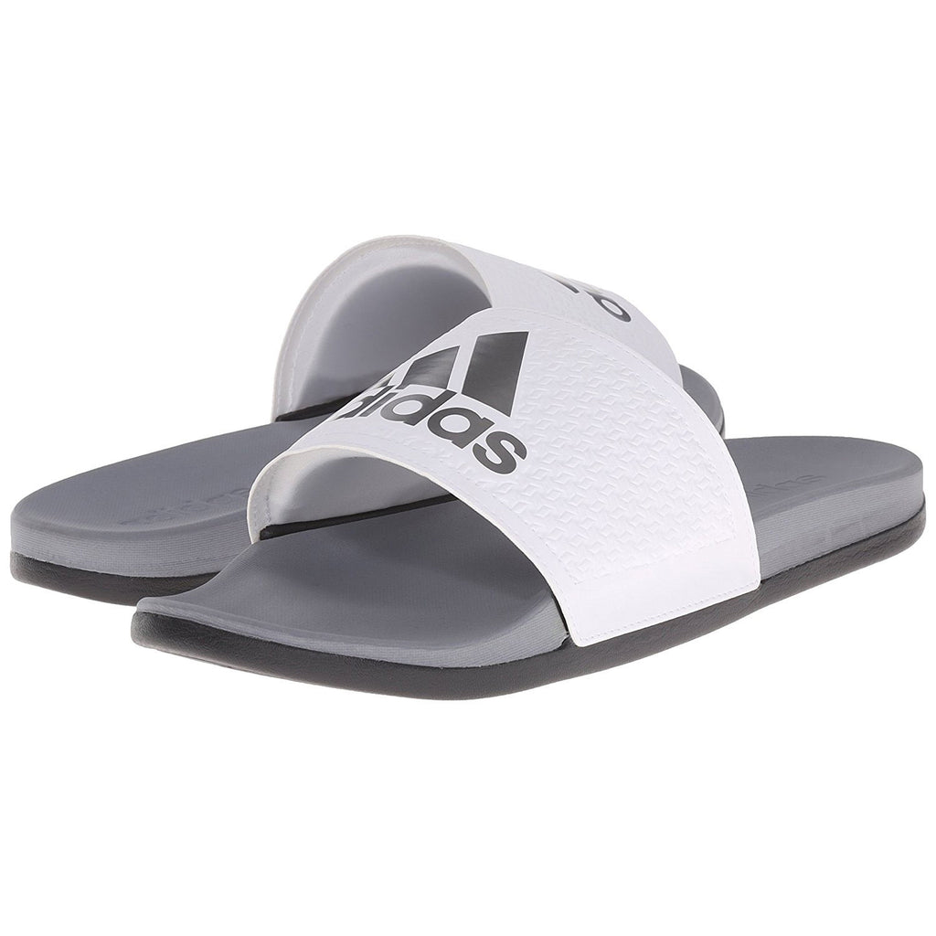 best service 95a2c e6cc9 adidas Originals Men s Adilette CF+C Slide Sandals - White Iron Metall -  Rockstorelagos