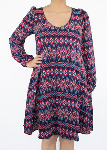 2X Aster Woven Popover Dress - Paisley Raye