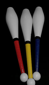 Spirit Juggling Clubs with taped handles