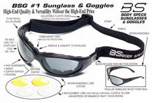 Body-Specs Safety Goggles BSG