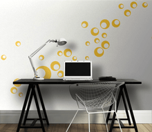 Wandtattoo Homeoffice Dots