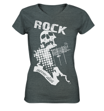 Rock N Roll Never Dies | Damen T-Shirt
