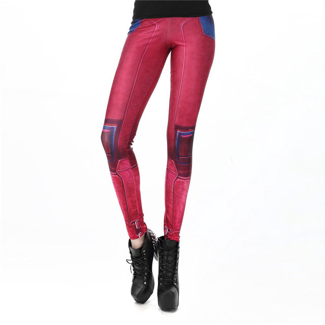 New Fashion Women leggings Super HERO Deadpool Leggins Printed legging for Woman pants