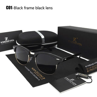 2018 New Polarized Sunglasses Men/Women Retro Rivet High Quality Polaroid Lens Brand Design Sun Glasses Female