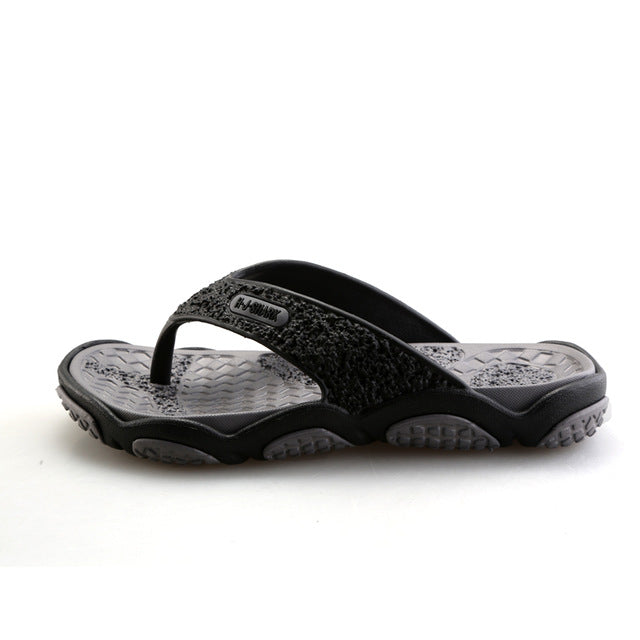 2018 Men's Sandals Casual Summer Slippers Shoes Men Lesiure Rubber Platform Sandals Beach Flip Flops For Men sandalias mujer