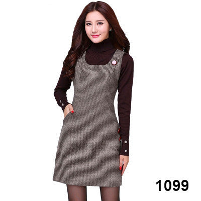 Woolen Women's Dress Plus Size - Forefront Outfitters Inc.