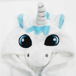 2018 New Pijamas kids winter animal cartoon unicorn onesie unicorn costume child boys girls pyjama christmas kids pajama sets