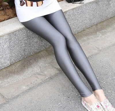 2018 lady push up slim leggings fashion new style hot shine legging girl black leggings summer autumn large size fitness pant