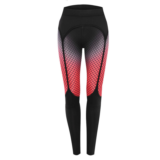 61205ffe5ad1ed Sexy Printed leggings Women Fitness clothing Booty Push Up Garter Pattern  Leggins Sporting Trousers - Forefront