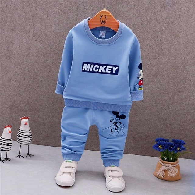 25911f509 ... Spring Autumn Baby Boys Clothes Full Sleeve T-shirt And Pants 2pcs  Cotton Suits Children ...