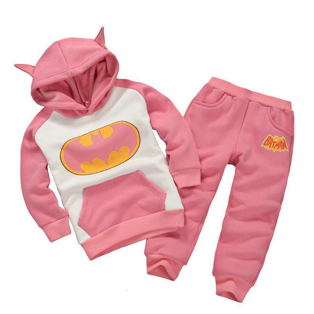 67c17a5e7 ... Children Clothing Sets Spring Autumn baby Boys Girls Clothing Sets  Fashion Hoodie+pants 2 Pcs ...