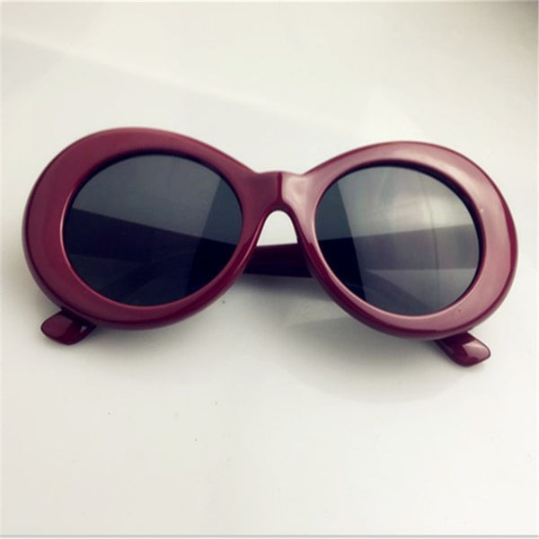 9994c4be88fe8 Clout Goggles NIRVANA Kurt Cobain Round Sunglasses For Women Mirror Gl