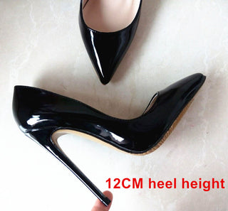 Brand Shoes Woman High Heels Pumps Nude High Heels 12CM Women Shoes High Heels Wedding Shoes Pumps Black Nude Shoes Heels