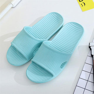 2018 New Summer Men Flip Flops Fashion High Quality Male Stripe Flat Bath Slippers Summer Sandals Indoor & Outdoor Slippers