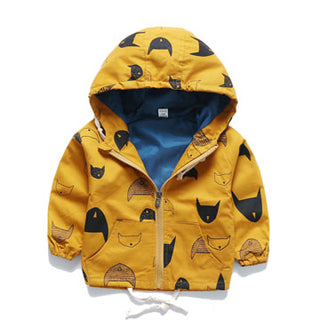 2018 New jacket coat spring autumn children's jacket print baby boy clothes children tops outwear kids clothes