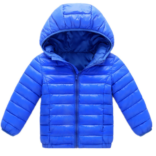 8feb9f85d Boys Blue winter coats   Jacket kids Zipper jackets Boys thick Winter