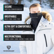 Terrakuda Polar Fleece Gaiter – Neck Warmer / Face Mask | Protection | Comfort | Breathable | One size fits most
