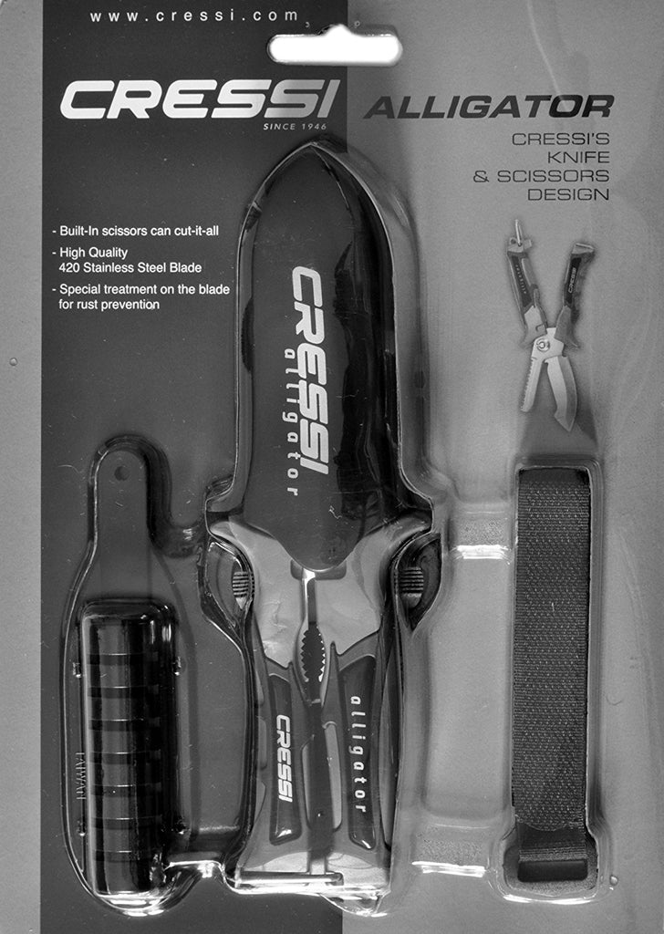 Cressi Alligator - Scissor/Knife