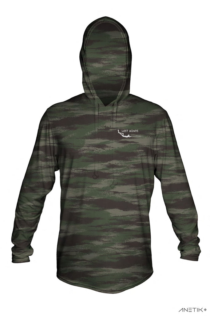 Lost Winds Tech Hoodie - Camo