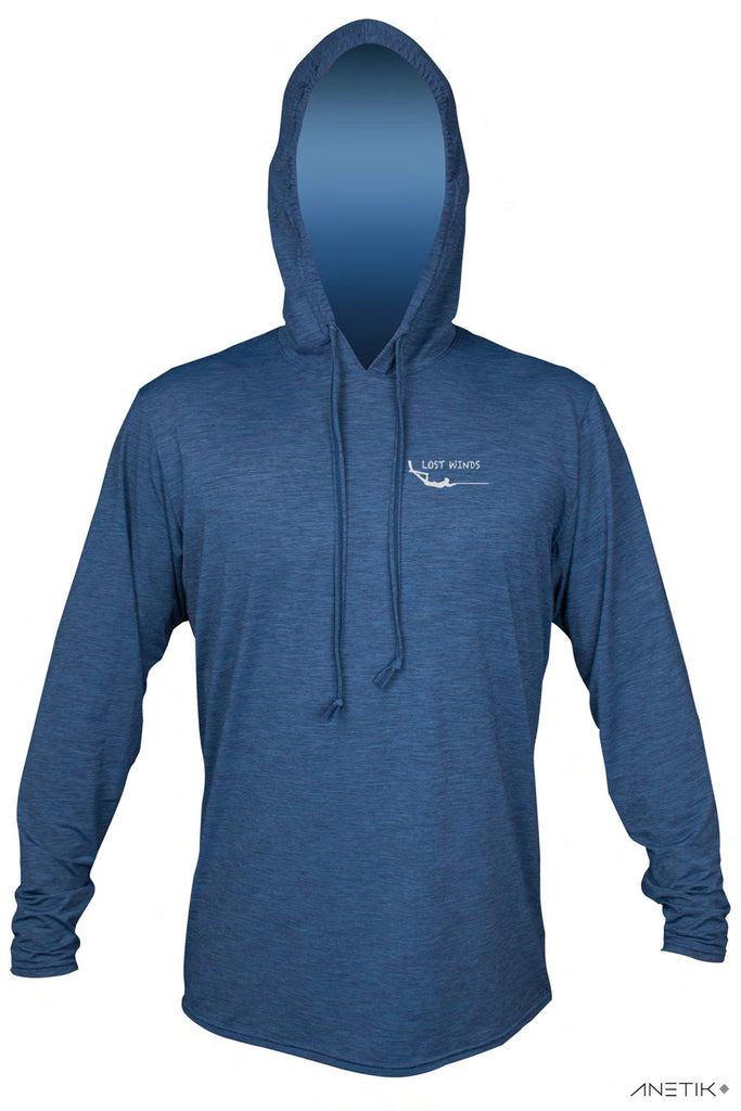Lost Winds Tech Hoodie - Navy