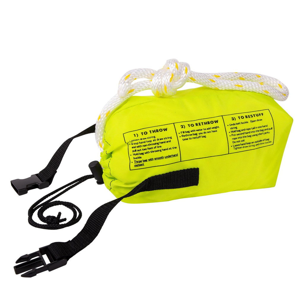 "Trident Rescue Throw Bag with 70 Feet 3/8"" Rope"