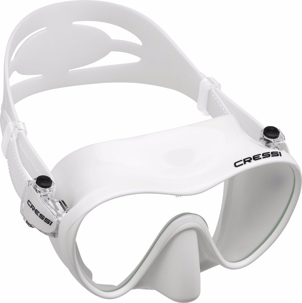 Cressi F1 Mini Frameless Mask - Youth - White
