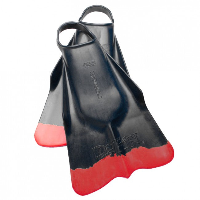DaFin Surf Swim Fins | Black/Red