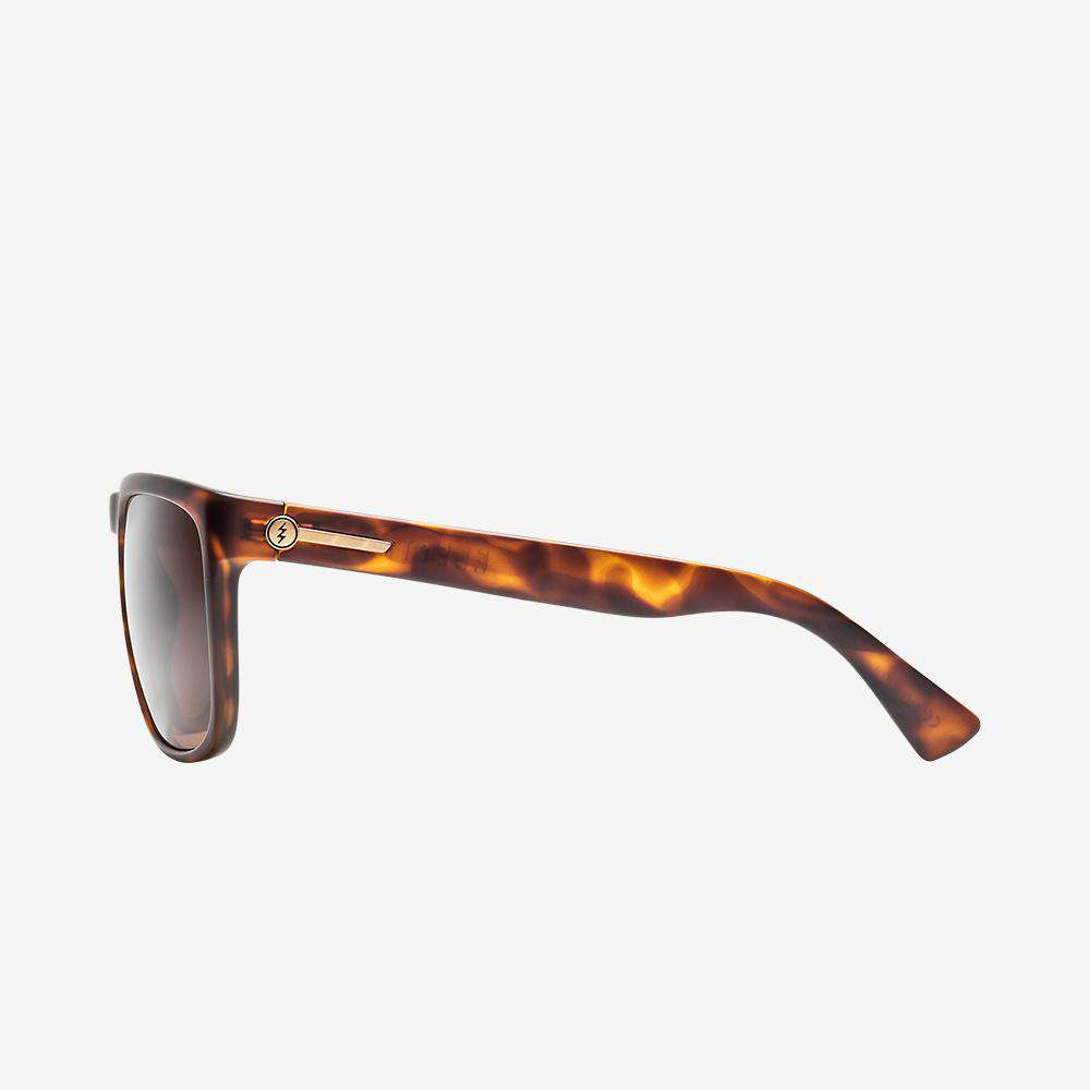 Electric Knoxville XL Sunglasses - Matte Tort Frame  - Bronze Polarized Lenses
