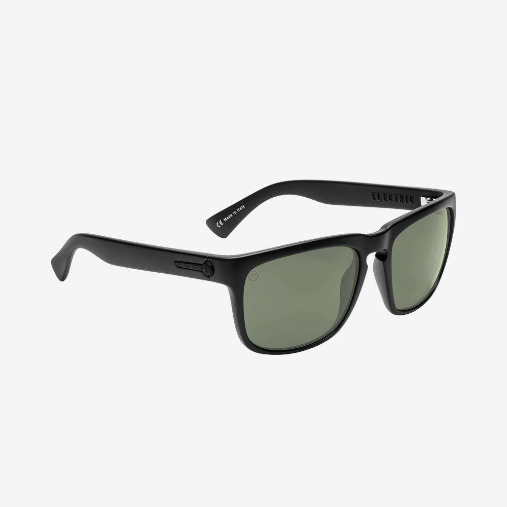 Electric Knoxville Sunglasses - Matte Black - Grey Polarized Lenses