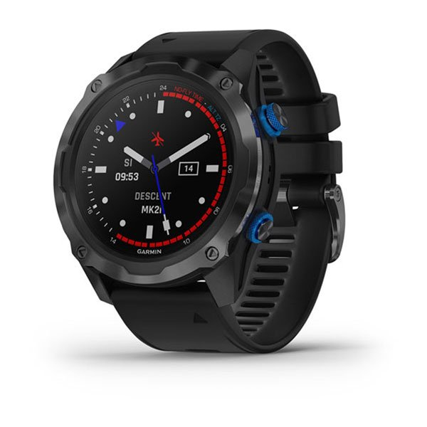 Garmin Descent MK2i Titanium Carbon Gray DLC with Black Band