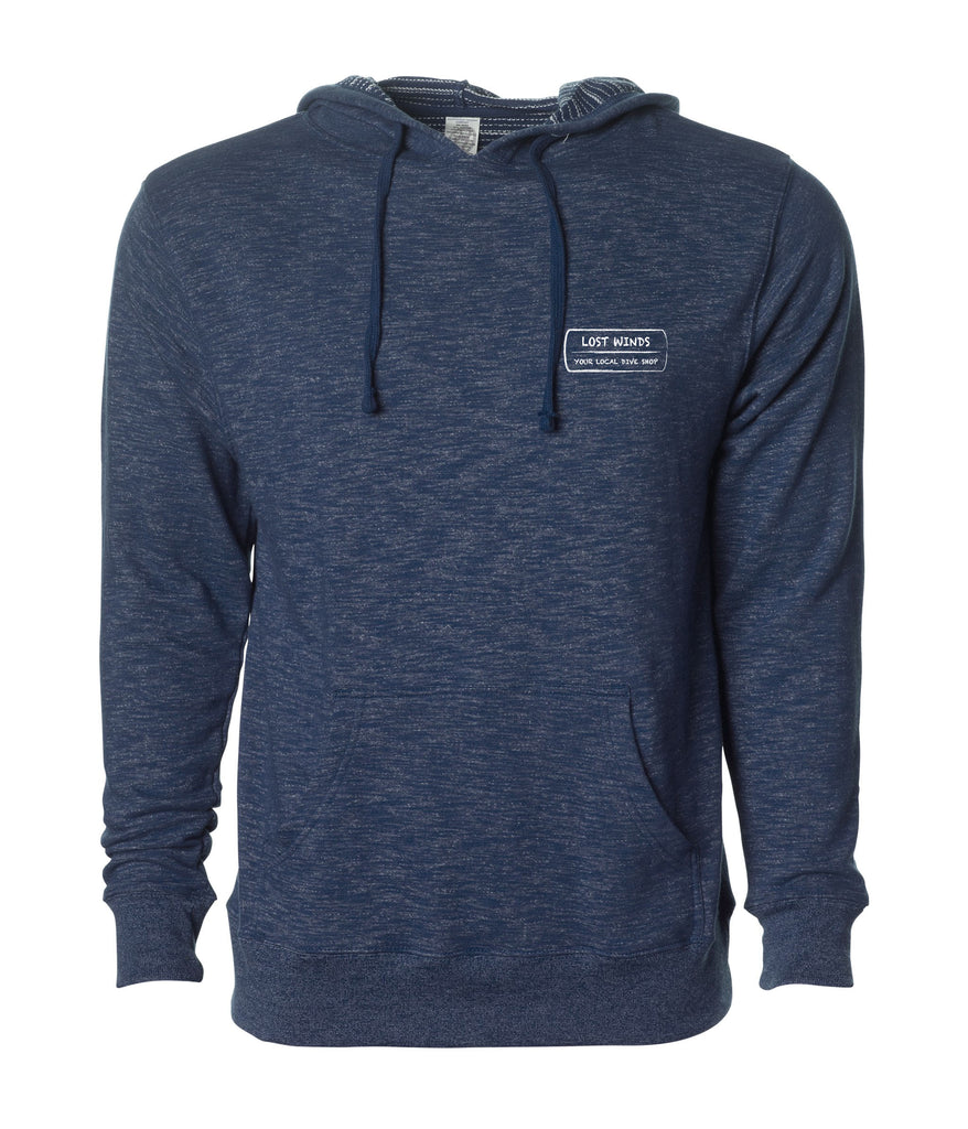 Lost Winds French Terry Pullover Hoodie | Navy