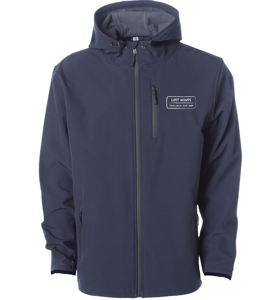Lost Winds Soft Shell Jacket Navy