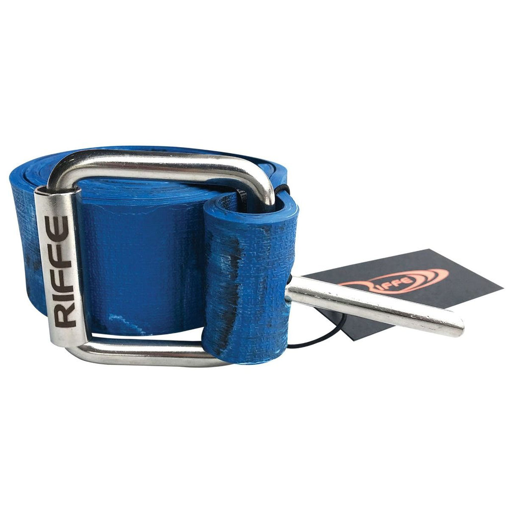 Riffe Marseilles Rubber Weight Belt w/ SS Buckle | Blue Camo
