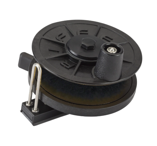 Riffe Low-Pro Horizontal Reel - Flat Mount - No Line