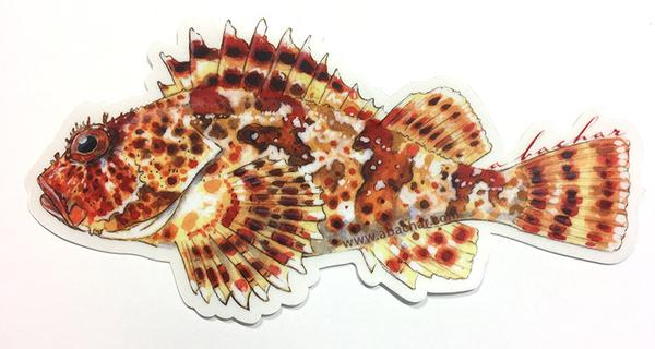 Studio Abachar Sculpin Sticker