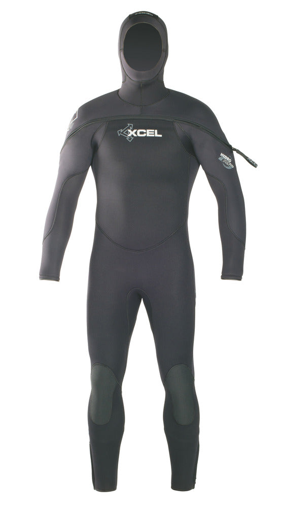 XCEL Men's Polar Hydroflex Hooded Dive Fullsuit 8/7/6