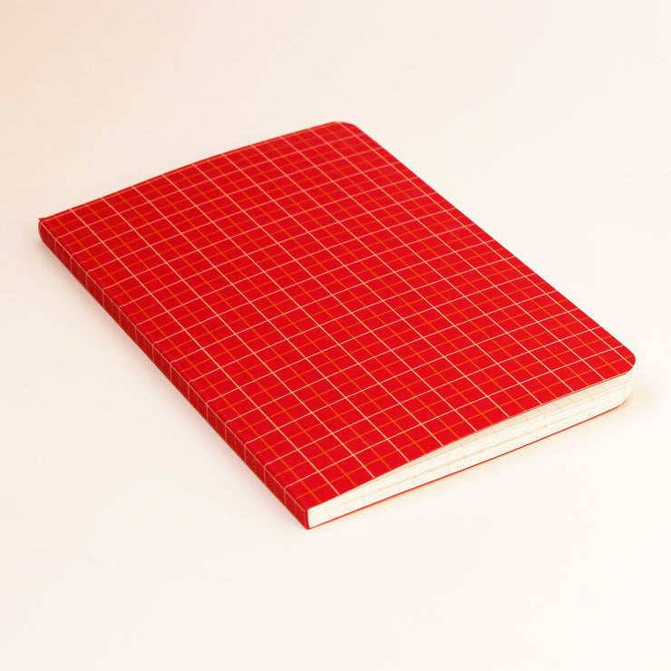 A5 Square Grid Book