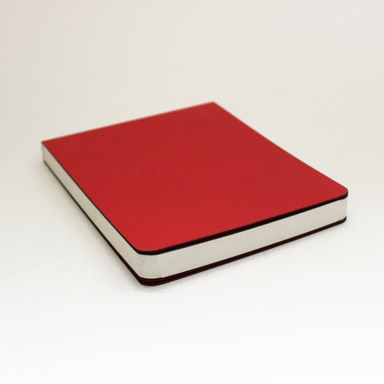 Pocket-size Red Sketchbook - Kaagazi Collaborative