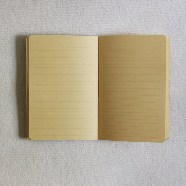 Fine Stationery Ruled Notebook - Kaagazi Collaborative