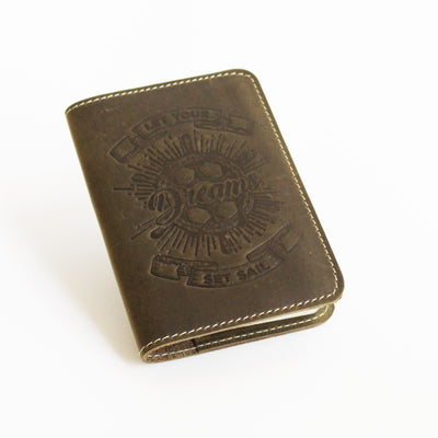 Military Green Passport Cover
